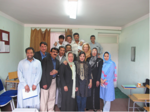 Training of Psychologists in the Mental Health Hopsital Kabul with Dr. Fareshta and Inge Missmahl