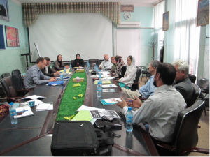 EPHS Workshop in the MoPH Kabul, September 2010