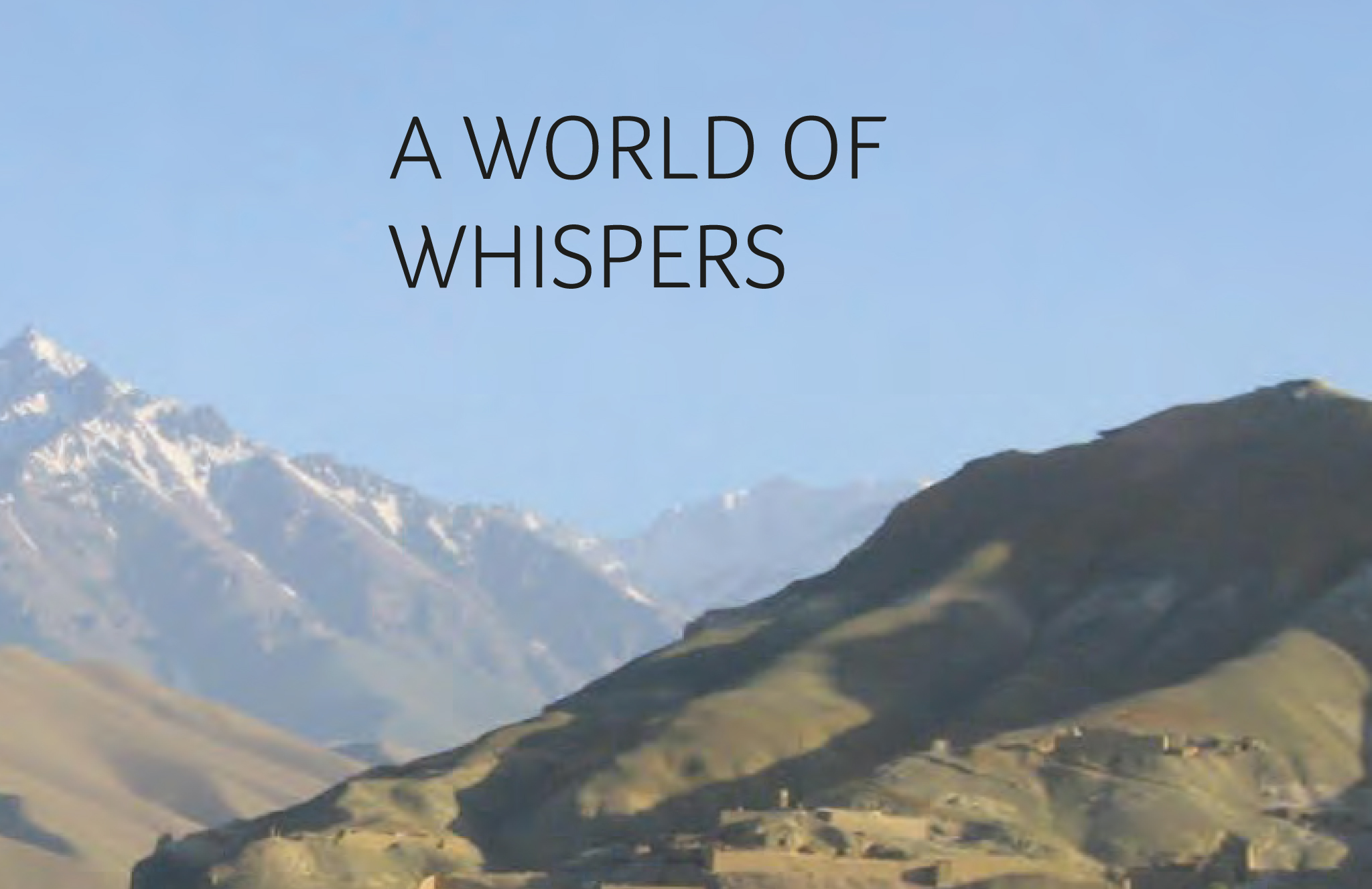 "Booklet ""A World Of Whispers"""